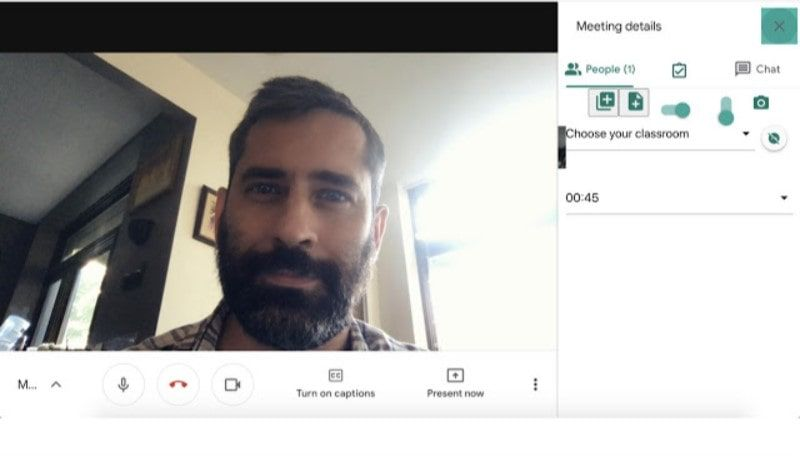 with meet attendance extension for google meet you can easily check who's attending the call and how long they stay in the meeting