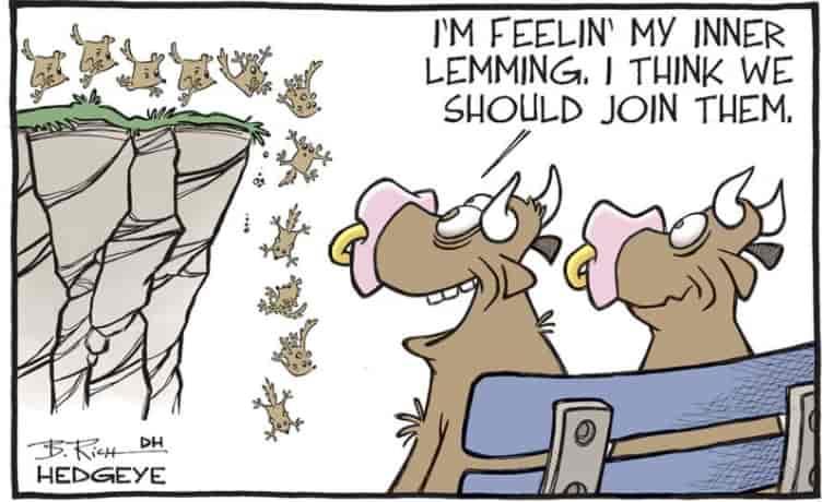 herd immunity might be a mojor propeller for great resignation