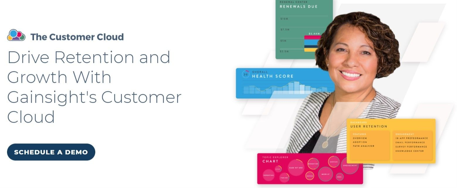 gainsight is a top-rated customer success software that offers intuitive ui and workflows