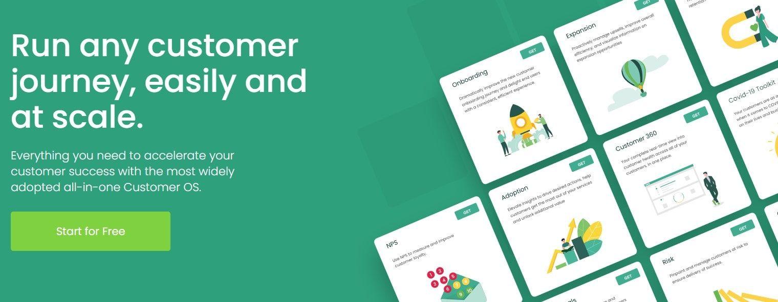 totango's state-of-art platform helps drive customer engagement and retention