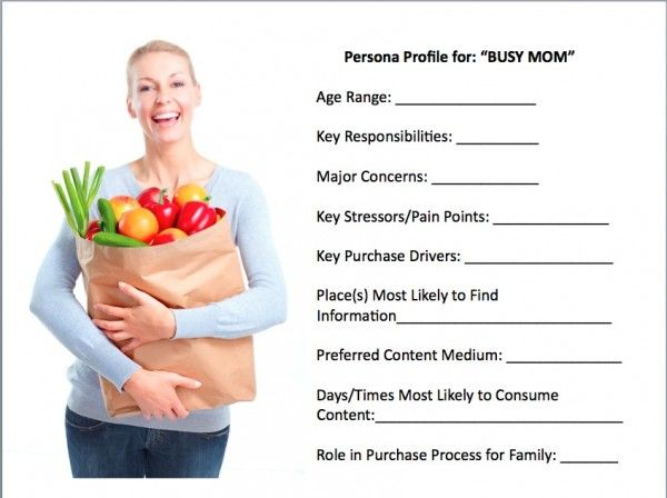 example of a buyer's persona
