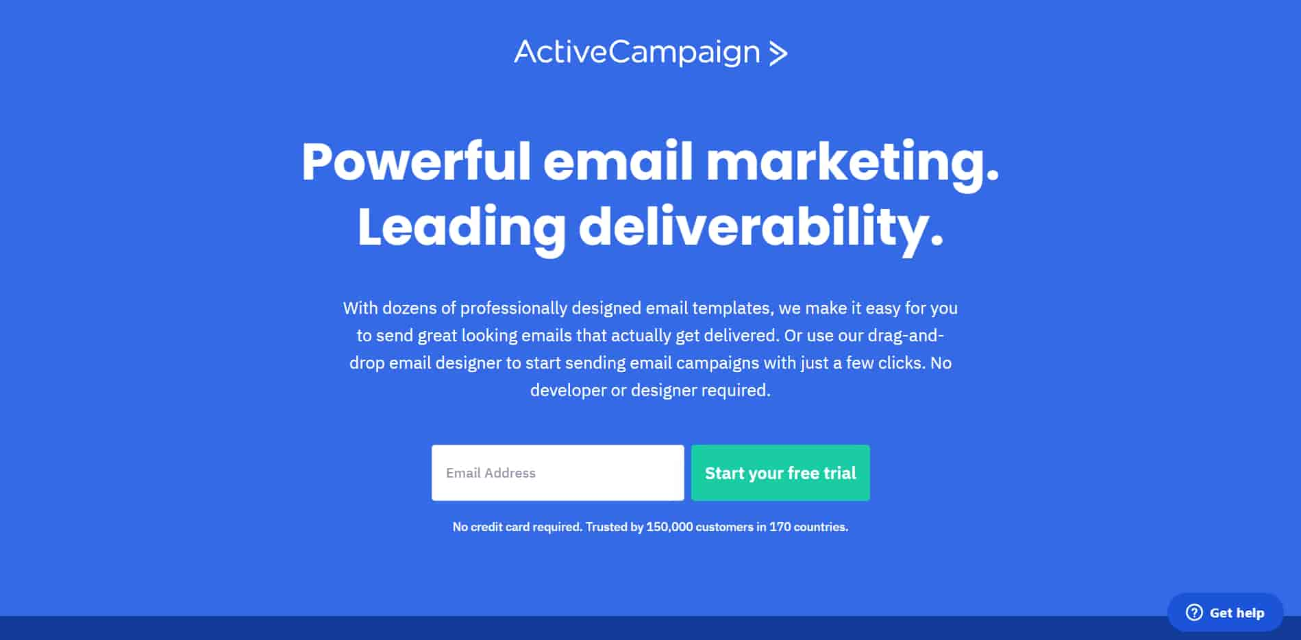 Active campaign is the best CRM for small business that is easy to operate and understand