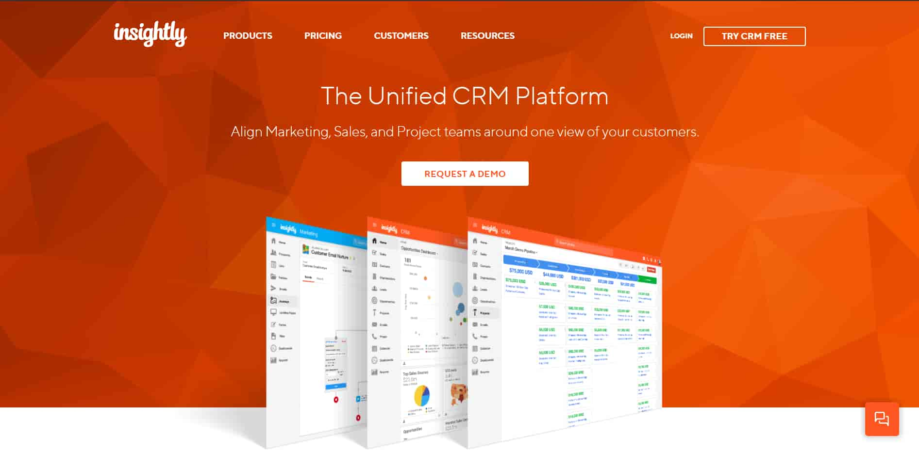 insightly is the best unified CRM platform for small business